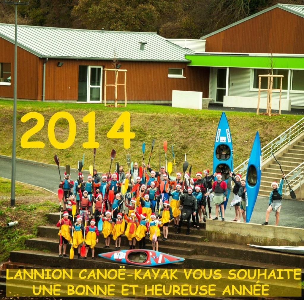 Le LCK vous souhaite une bonne et heureuse année (à fond les pagaies!)